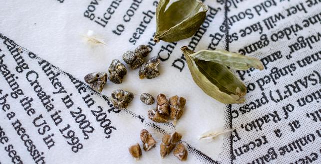 カルダモンの種子